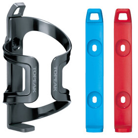 Topeak DualSide EX Flaschenhalter grau/rot/blau